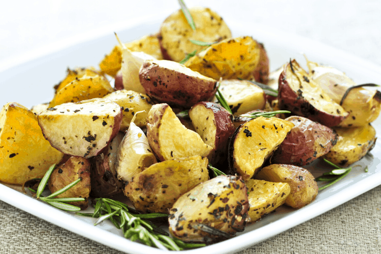 Ninja Foodi Roasted Baby Potatoes
