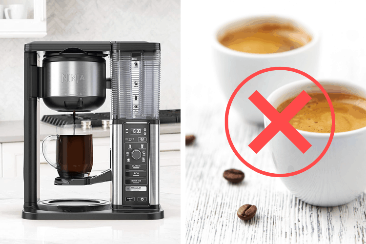Can The Ninja Specialty Coffee Maker Make Real Espresso