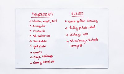 a refrigerator whiteboard will help you reduce personal food waste