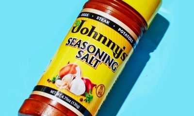 johnny's seasoned salt goes well with everything. everything.