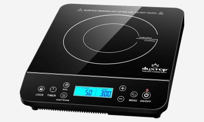 duxtop's portable induction hob is magnetic (and currently on sale