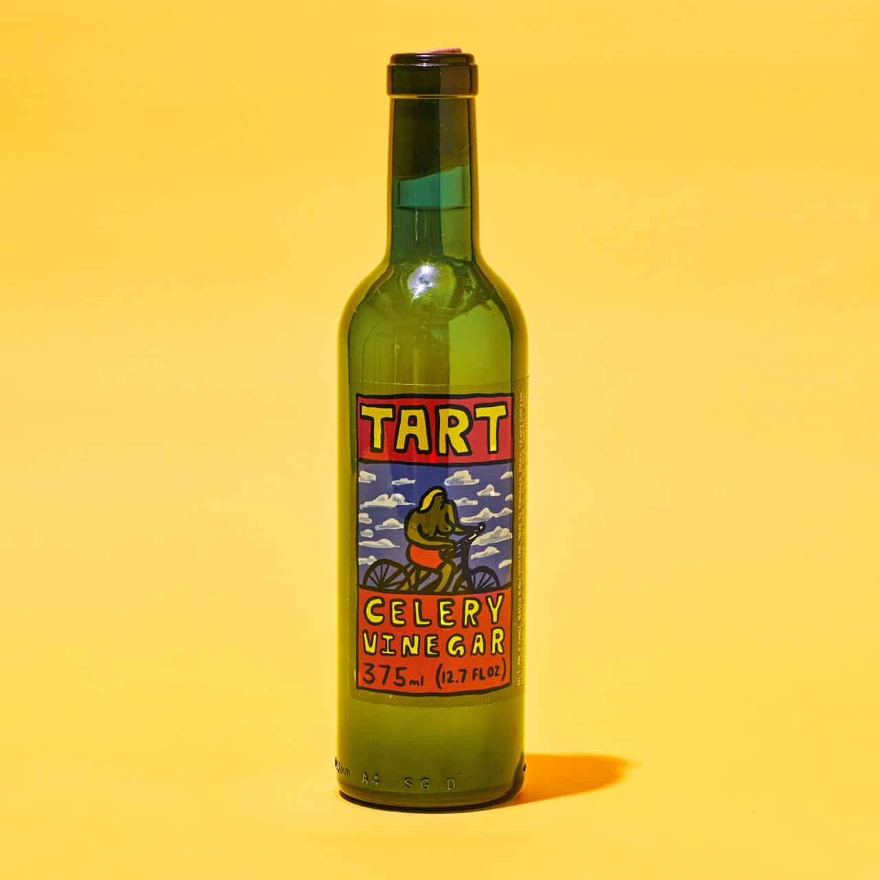 moving through acv, there's a new vinegar in town
