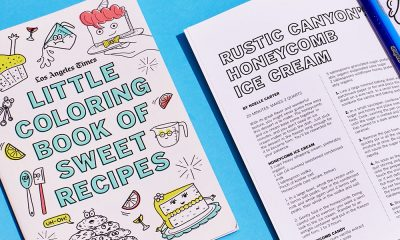 with the little coloring book of sweet recipes you can